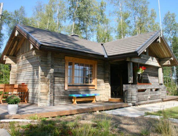 Rental cottage vuokramökki Saimaa smokesauna savusauna