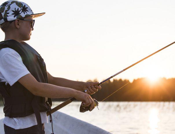 Rental cottage vuokramökki Saimaa fishing kalastus