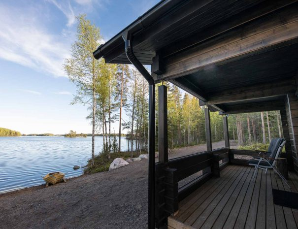 Norppaniemi rantasauna kuisti 2021